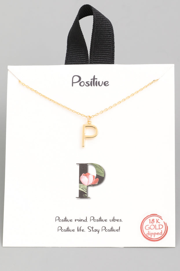 P Necklace