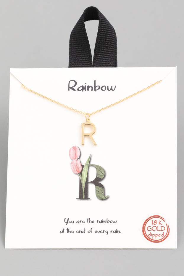 R Necklace