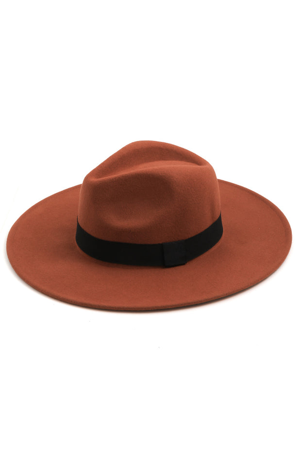 Wild West Fedora (Rust)