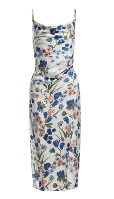 Fitted Floral Midi Dress, RENAMED, Dress - Bobbi Rocco