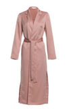 Long Trench Coat With Tie, RENAMED, Trench Coat - Bobbi Rocco