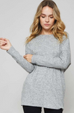Twisted Low Back Sweater, PROMESA, Sweater - Bobbi Rocco