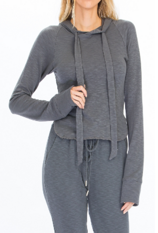 Tight Fitted Lounge Hoodie
