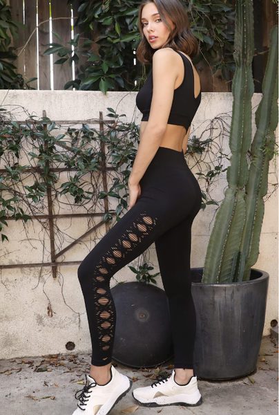 Melange Layer Leggings