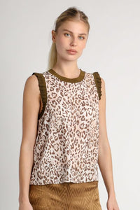 Christy Leopard Tank