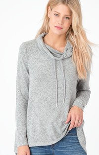 The Marled Cowl Neck Sweater, Z SUPPLY, Sweater - Bobbi Rocco