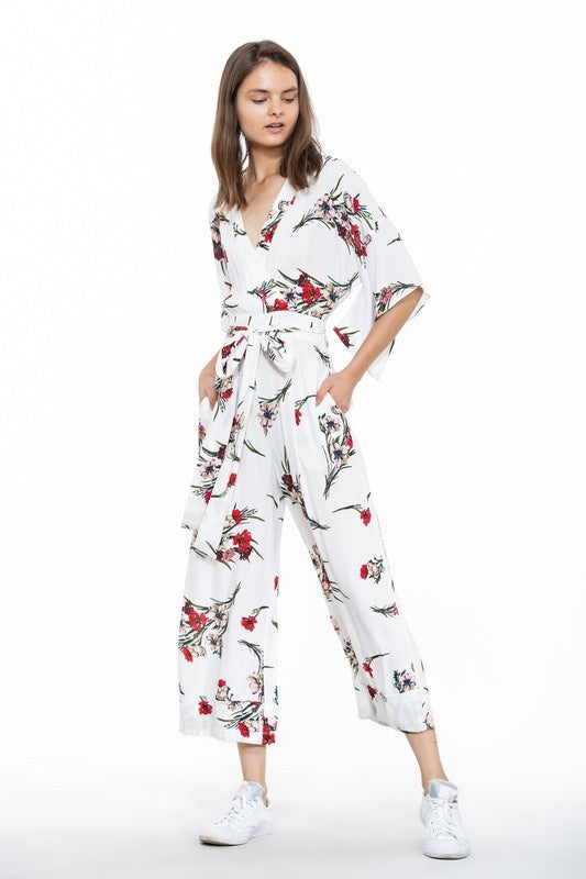 Flower Gardens Jumpsuit, THE ROOM, Jumpsuit - Bobbi Rocco