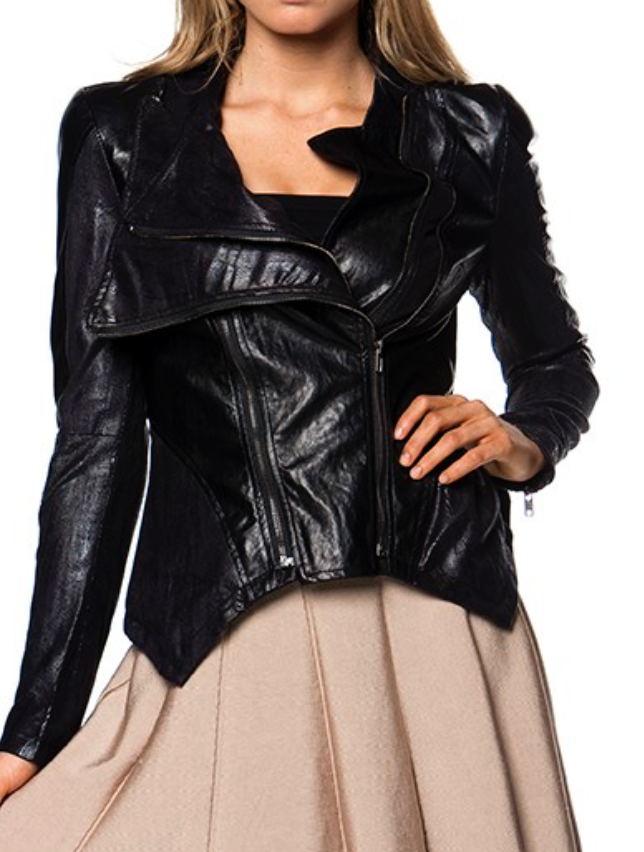 J1217 Billie Vegan Leather Jacket