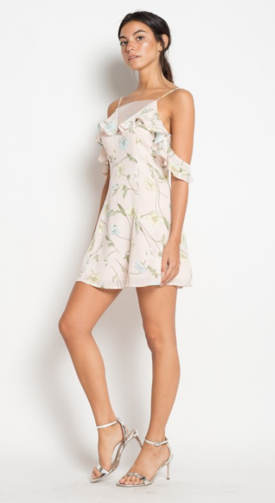 Floral Off The Shoulder Dress, ETOPHE STUDIOS, Dress - Bobbi Rocco