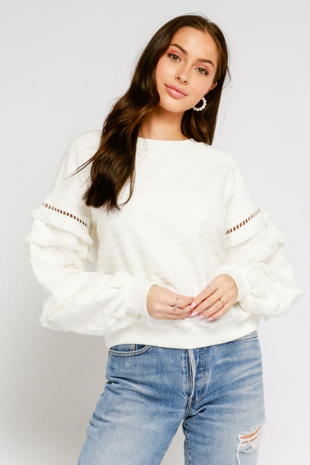 Fun Fringe Sweater