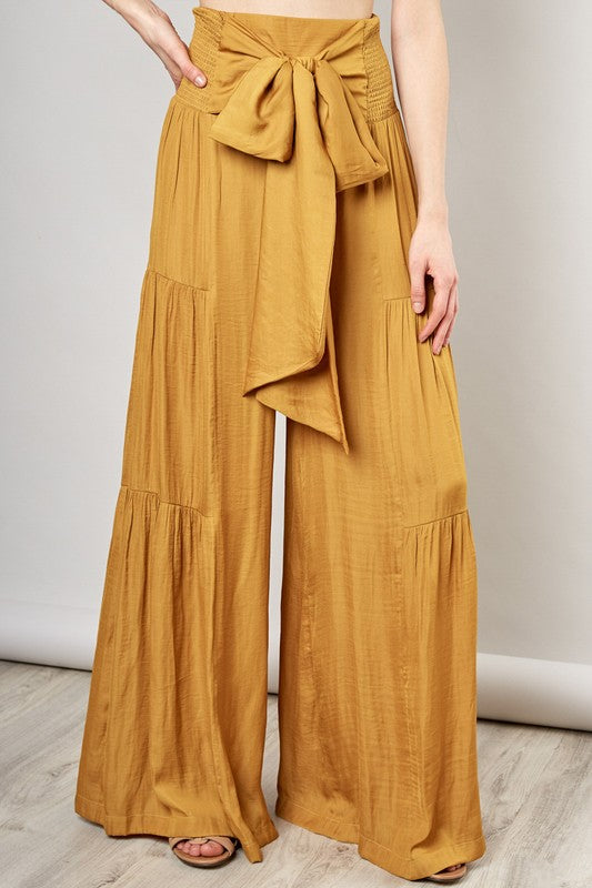 Golden High Rise Pant
