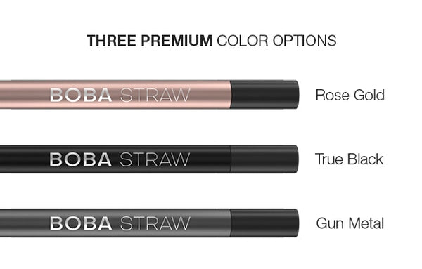Boba Straw - The Original Duo-Material Bubble Tea Straw