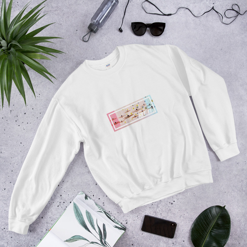 Hit it! Hit that Hi Hat Sweatshirt - Printed