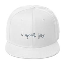 Load image into Gallery viewer, I Spark Joy Snapback Hat - Embroidered
