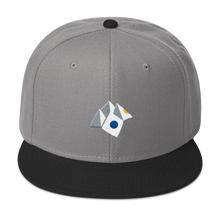 Load image into Gallery viewer, Paper Fortune Teller Snapback Hat - Embroidered