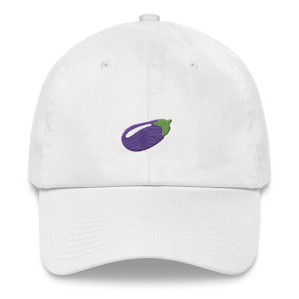 🍆 Eggplant Baseball Hat - Embroidered