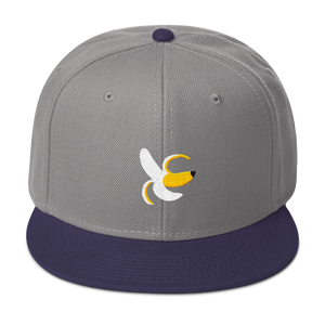 Banana 🍌 Snapback Hat - Embroidered