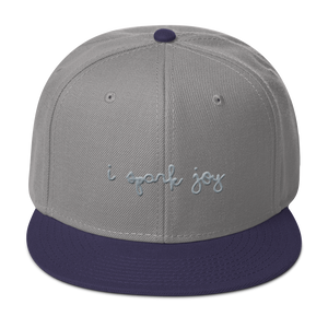 I Spark Joy Snapback Hat - Embroidered