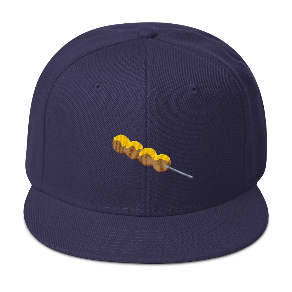 Fishballs Snapback Hat - Embroidered