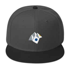 Paper Fortune Teller Snapback Hat - Embroidered