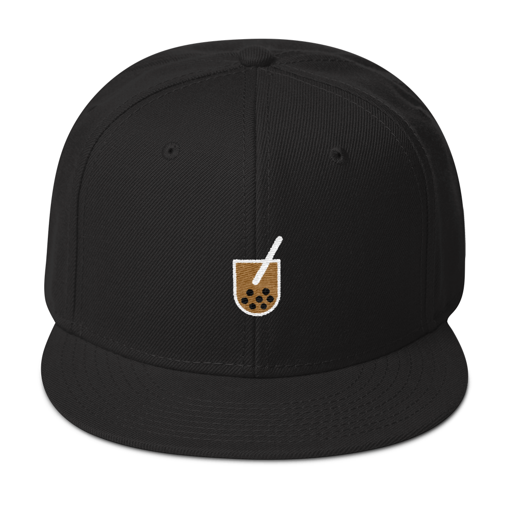Boba Snapback Hat - Embroidered