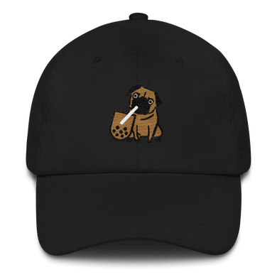 Boba and Pug Baseball Hat - Embroidered