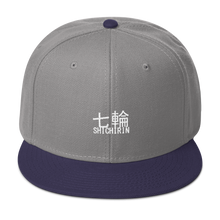 Load image into Gallery viewer, 7 Rings Shichirin Snapback Hat - Embroidered