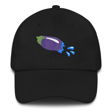 The Eggplant Rocket Baseball Hat - Embroidered