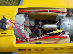Maverick Ducted Fan Open Turbine conversion Fuel Tank set