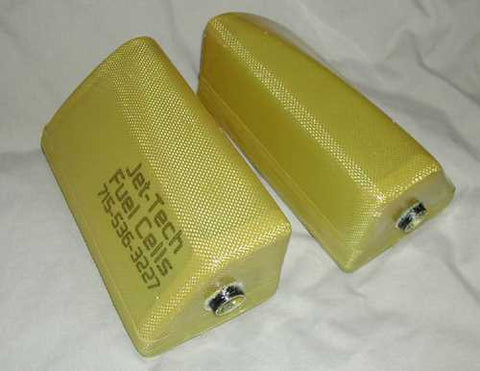 Yellow Aircraft Stingray Fuel Tank Set
