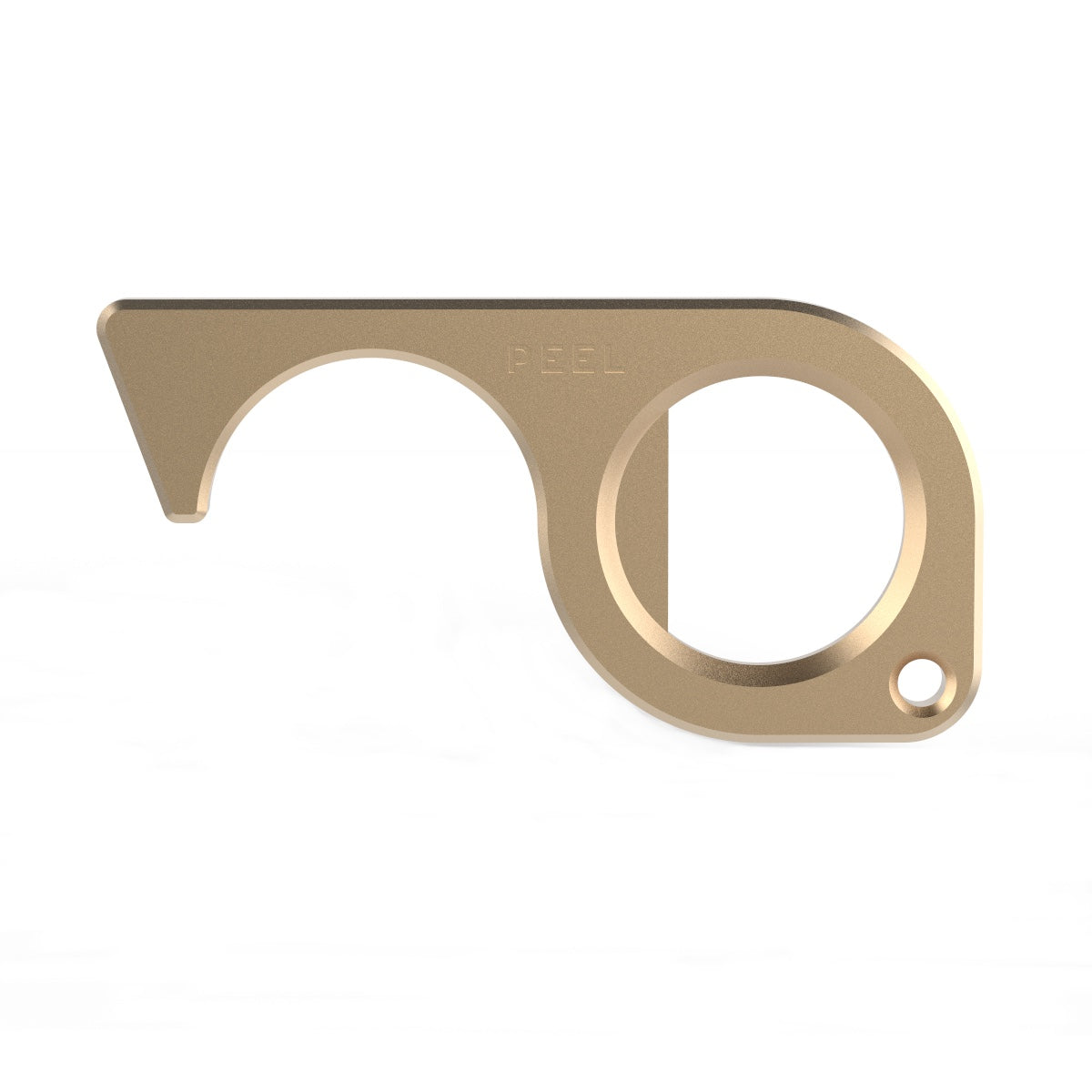The Brass Keychain Touch Tool