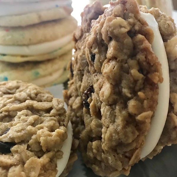 Oatmeal Raisin Sandwich Cookies