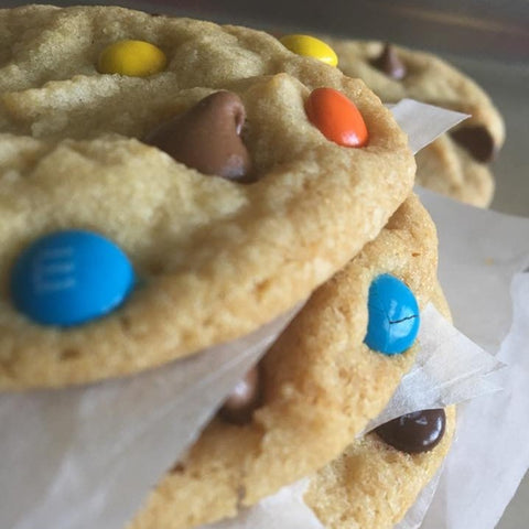Chocolate Chip M & M's