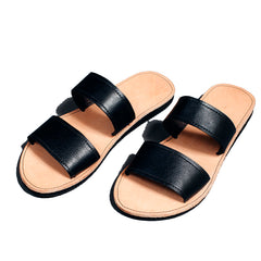 proud mary 2 strap sandal fair trade