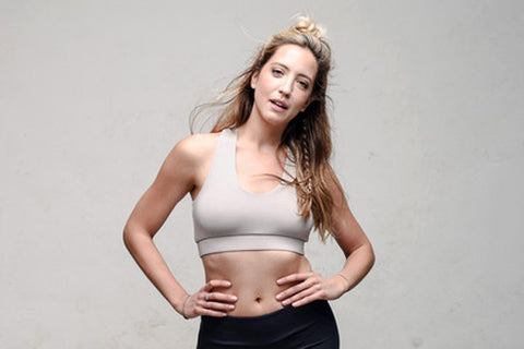 Origin bamboo yoga bra