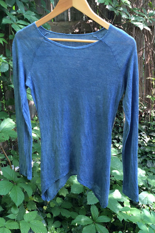 Elvin Top Indigo Dyed