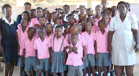 Haiti School Building Project - School Uniforms