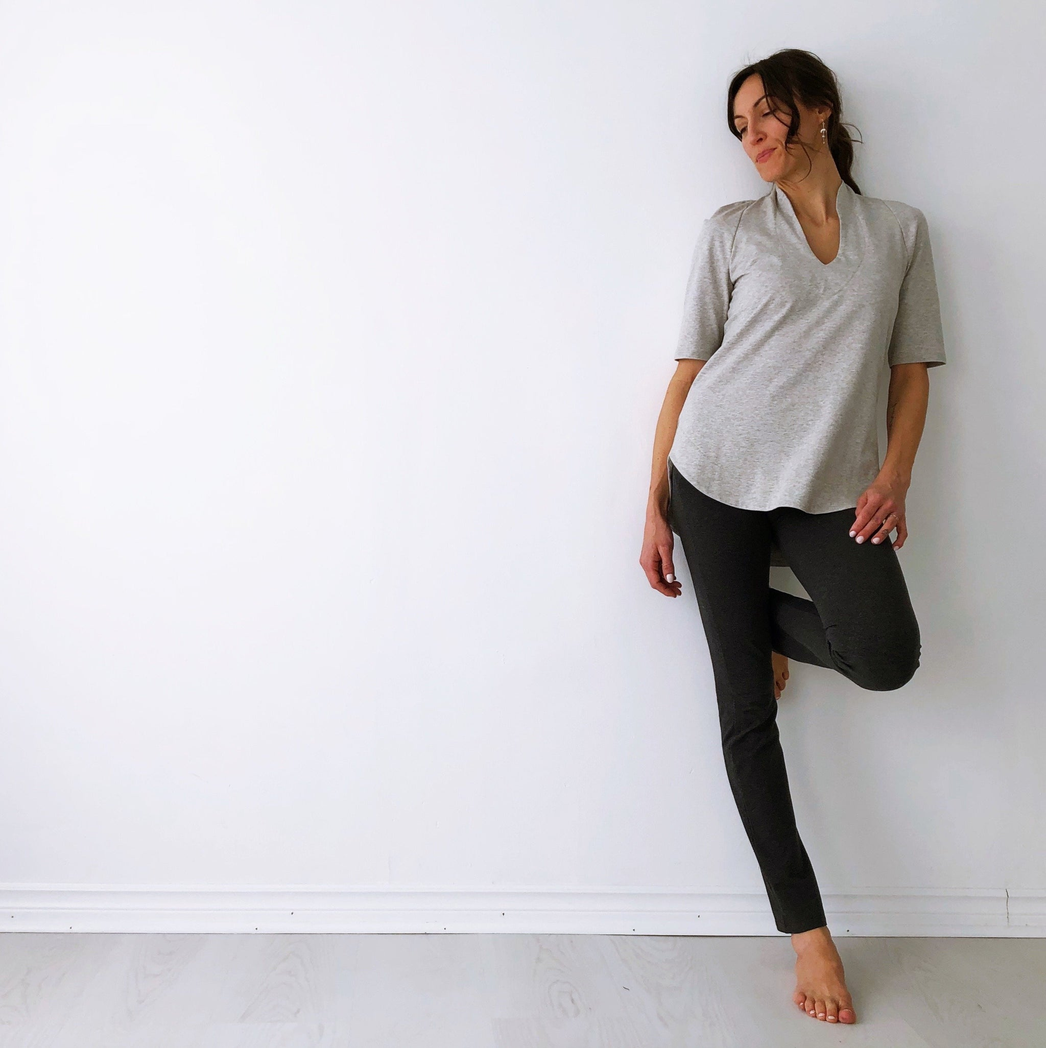 The Harmony Tunic - Mid Sleeve - Organic Cotton