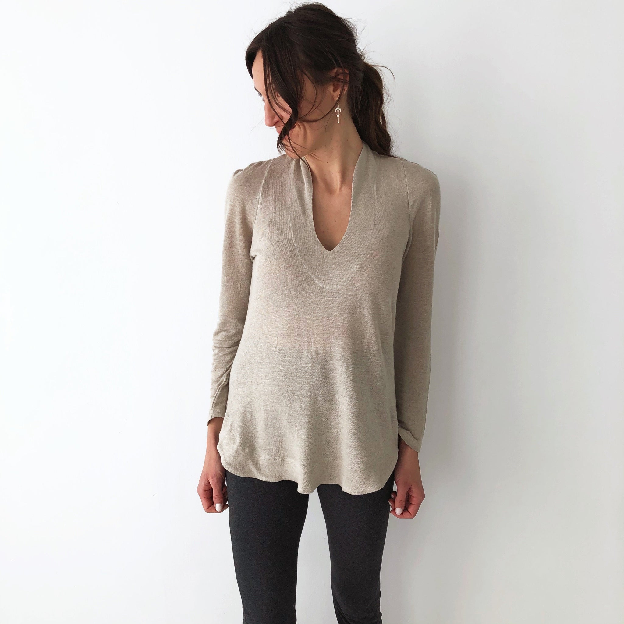 The Harmony Tunic - Long Sleeve - Hemp
