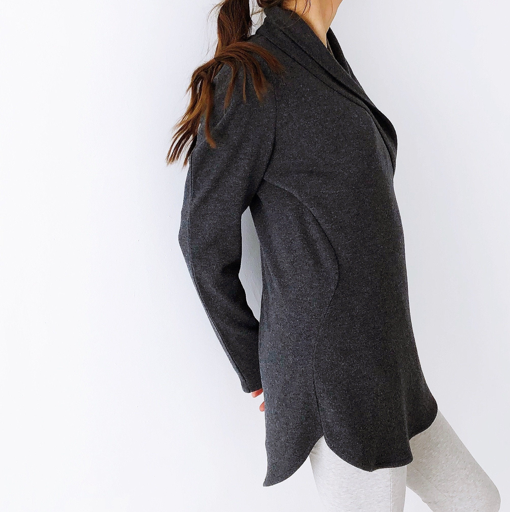 The Lotus Cardigan - Italian Lambswool