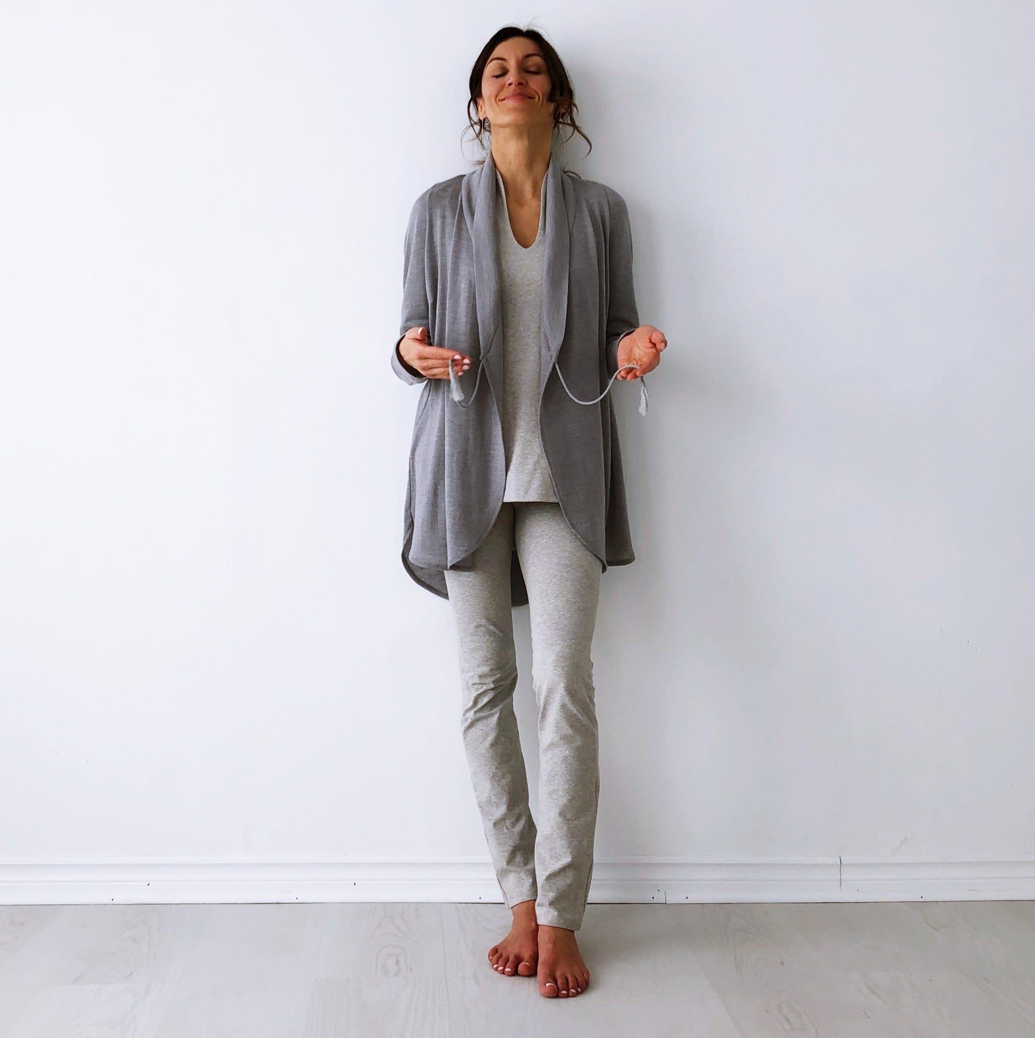 The Lotus Cardigan - Italian Merino