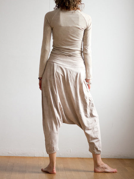 Barcelona Pant - Bamboo - Limited Natural Dyed