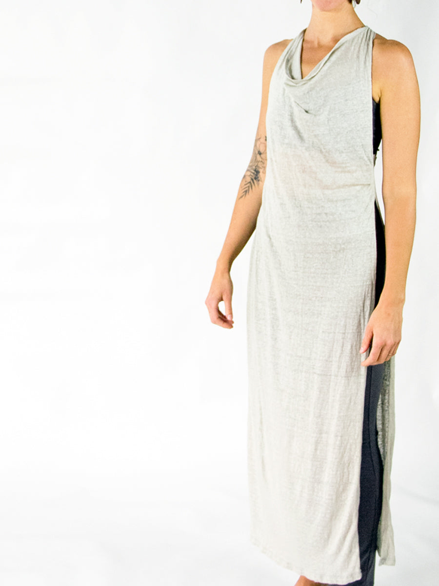Gisele Goddess Dress - Linen - Natural Dye Limited Edition