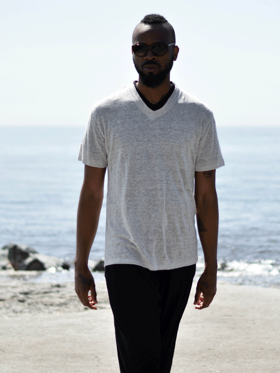 Men's Oceanus T-Shirt - Linen