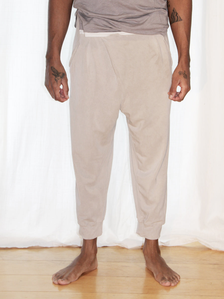 Unisex Crossover Capri - Limited Edition Natural Dye
