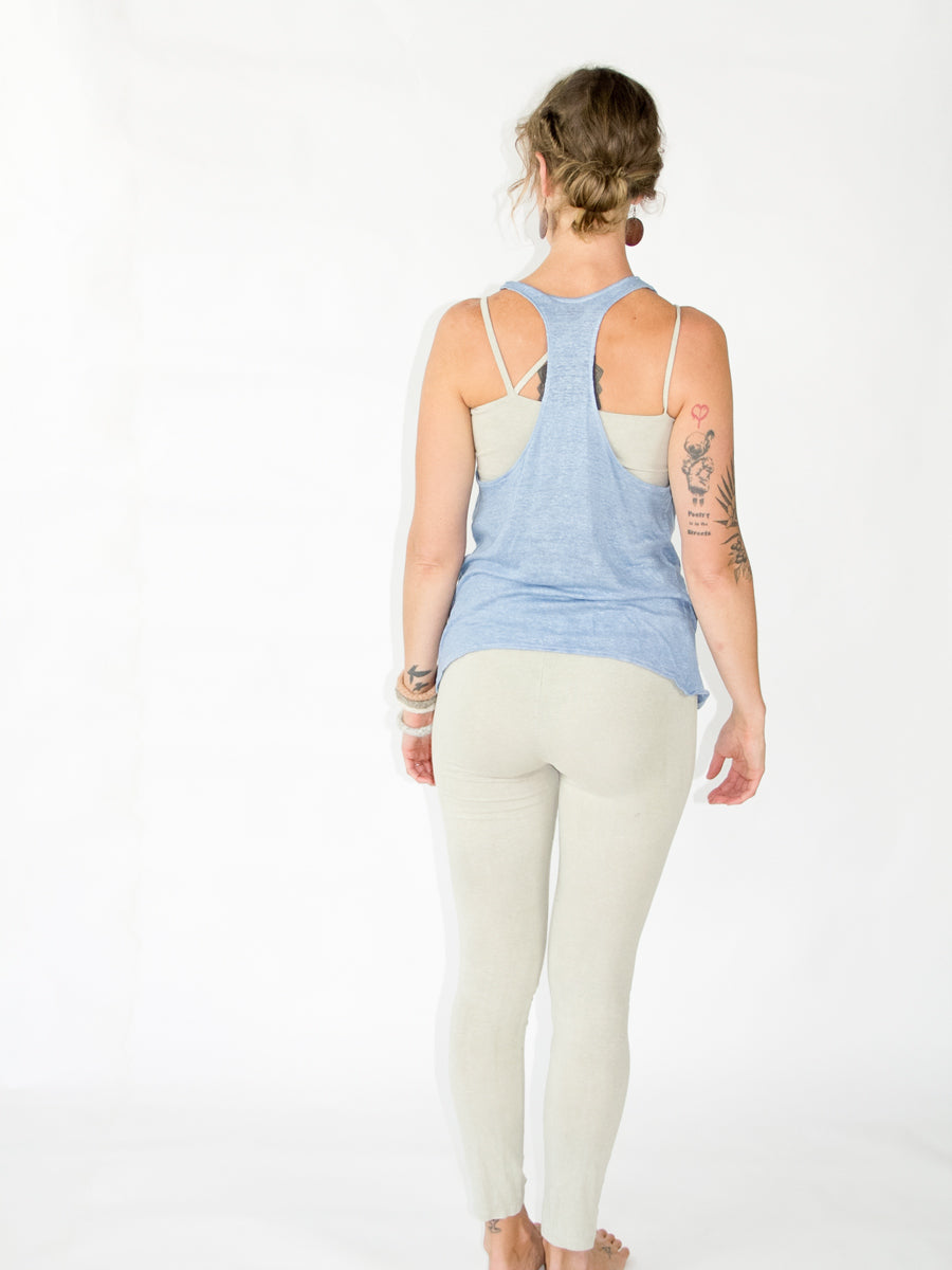 Delphine Top - Linen - Limited Edition natural Dye