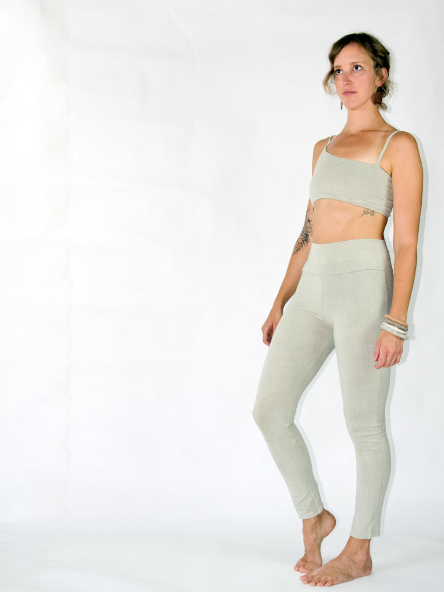 High Waist Yoga Legging - Limited Natural Dye
