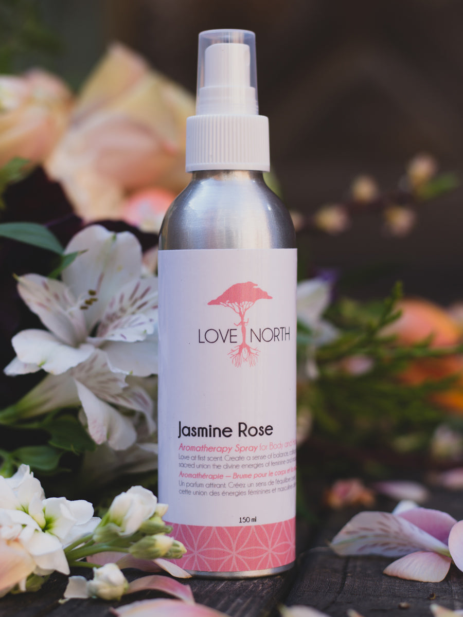 Love North - JASMINE ROSE AROMATHERAPY SPRAY