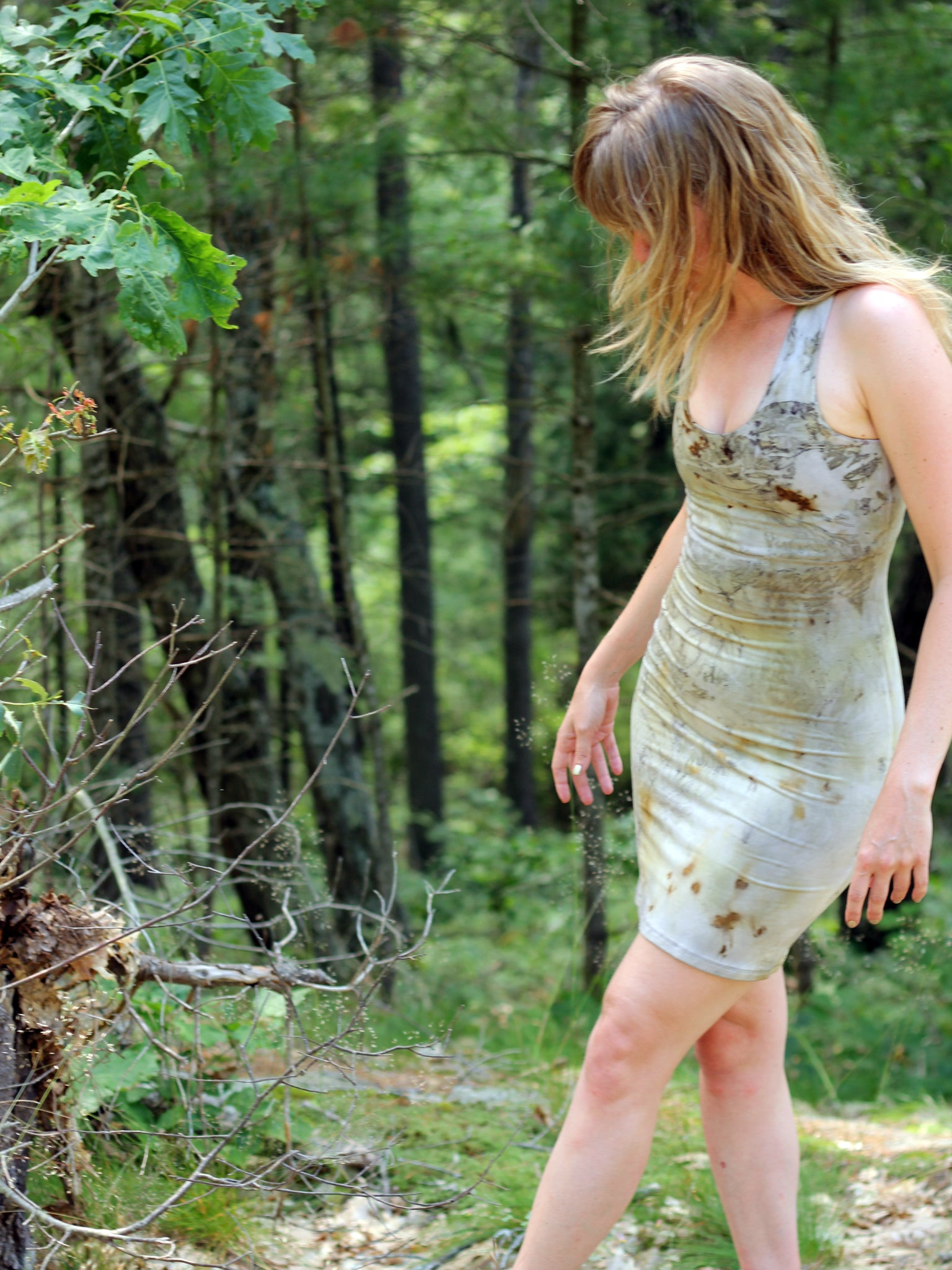 Origin Tank Dress - Limited Edition Natural Dye