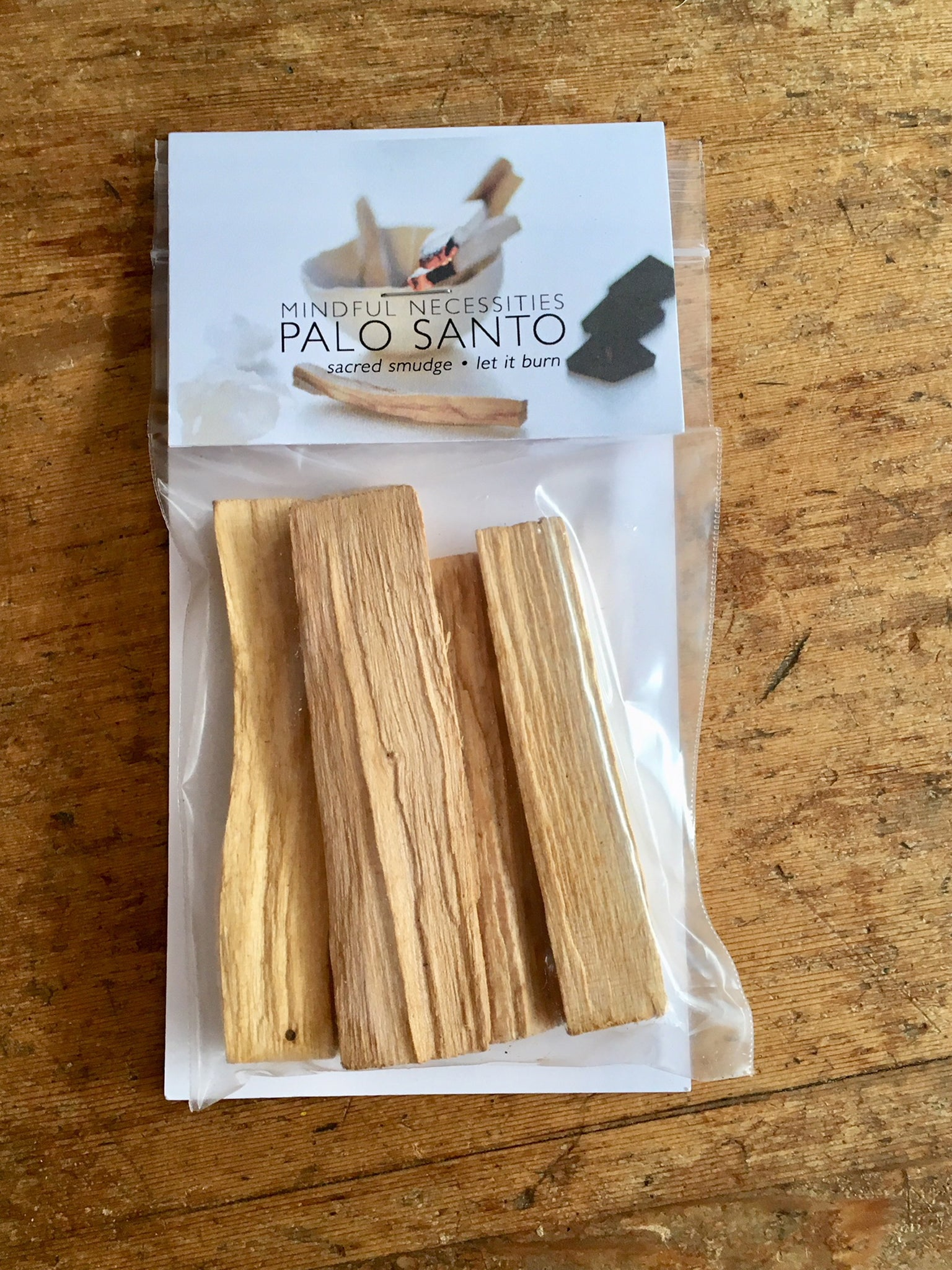 Palo Santo - Smudge - Mindful Necessities